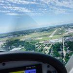 REMOS Anflug auf das EAA AirVenture in Oshkosh